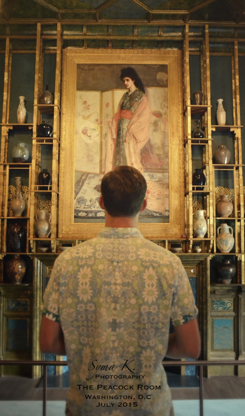 The Peacock Room- Freer Gallery of Art